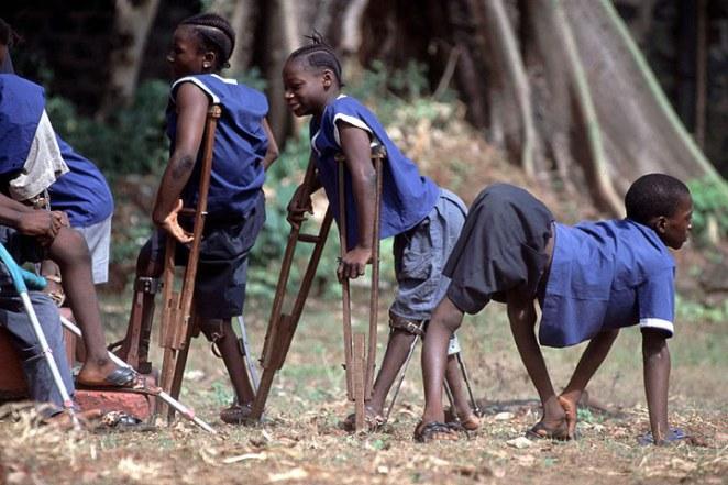Polio_Afryka_dzieci